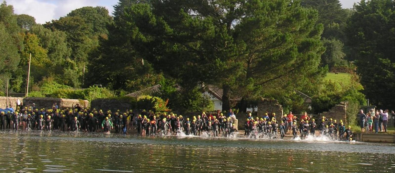 Inn to Inn Swim Start